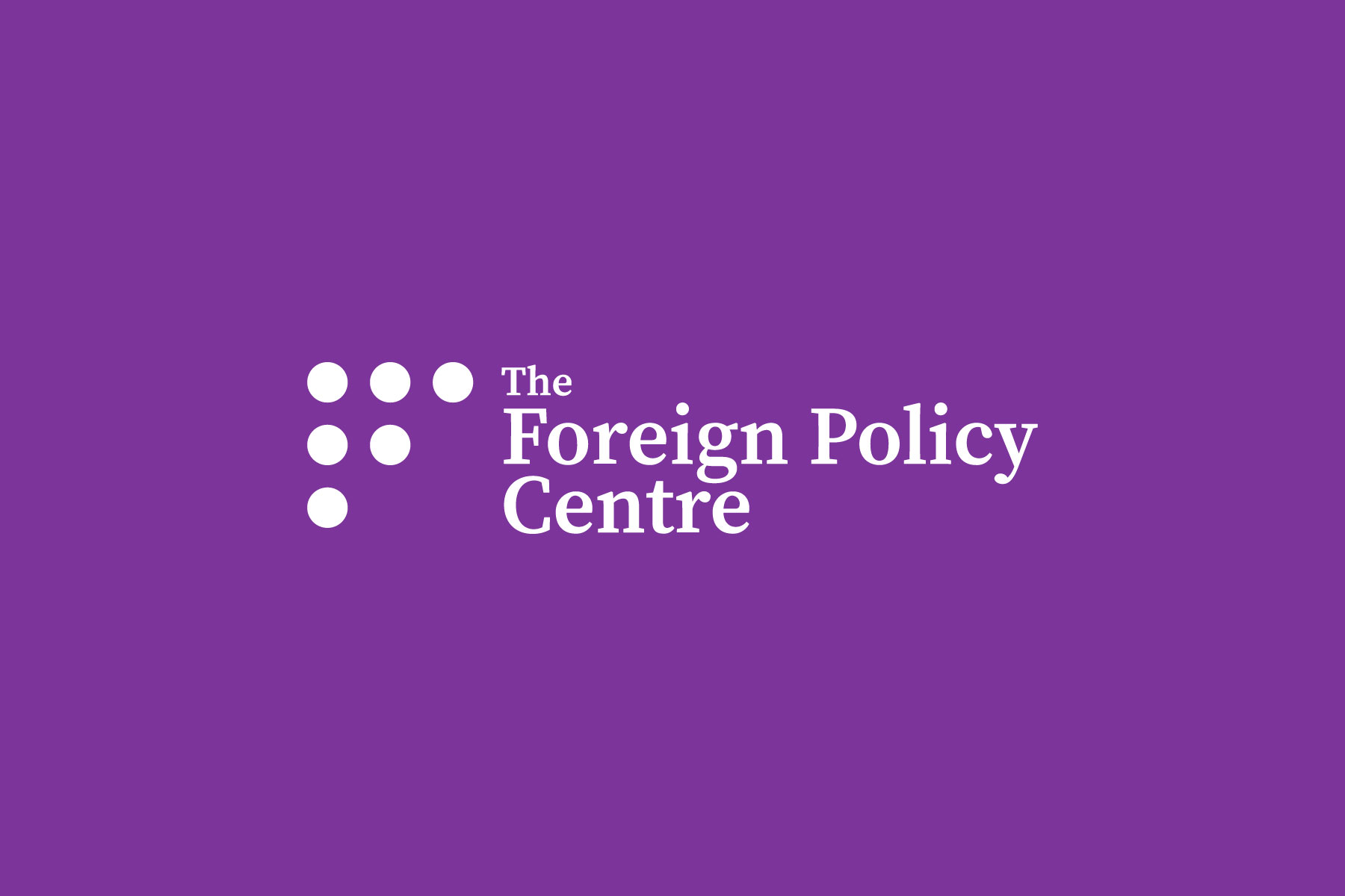 The Foreign Policy Centre Submission for the United Nations Universal Periodic Review: Iran