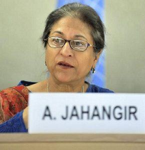 In memoriam: Asma Jahangir