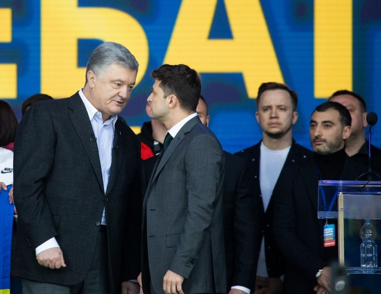 Far from a pro-Russian dove, Volodymyr Zelensky enters office a Russia hawk