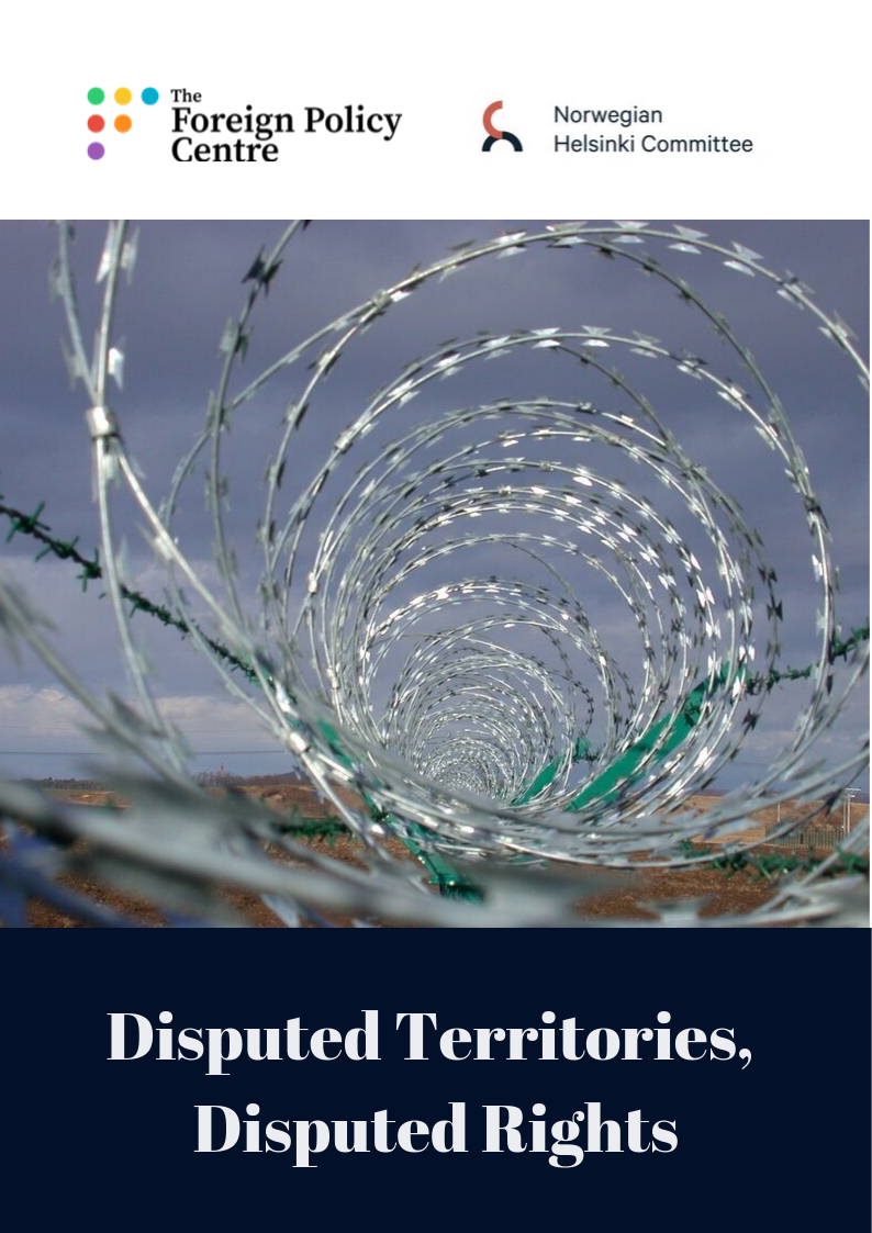 Disputed Territories, Disputed Rights: How to address human rights challenges in Europe's grey zones