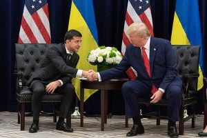 In the end, it's Ukraine, not Russia, that threatens to bring down Trump
