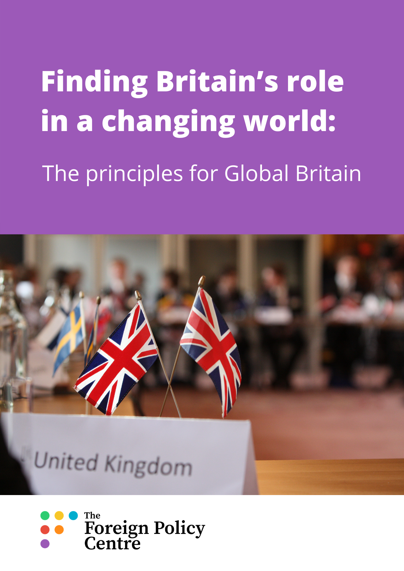 The principles for Global Britain