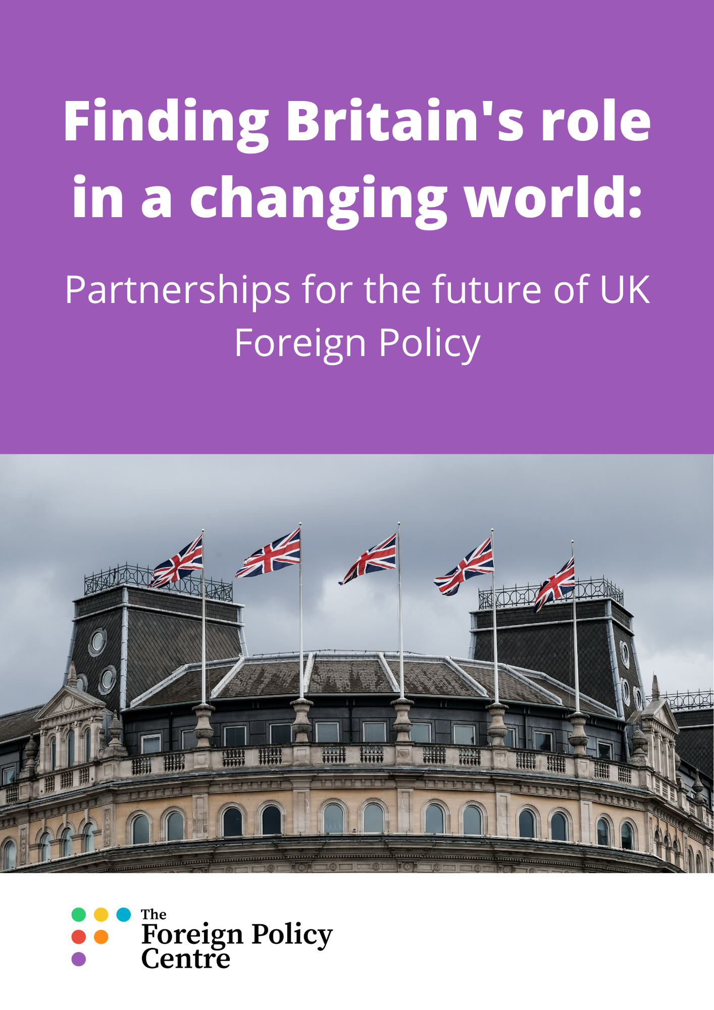 Partnerships for the future of UK Foreign Policy