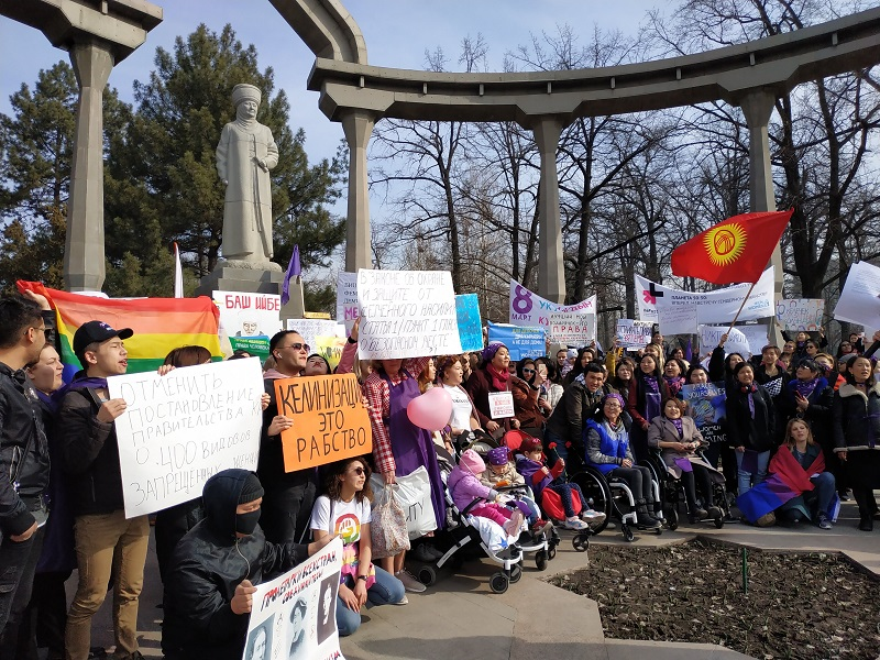 Down from human rights activity to activism in Kyrgyzstan