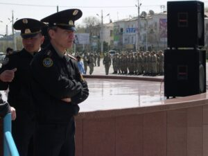 Қазақстандағы полиция кеттлингі (kettling)